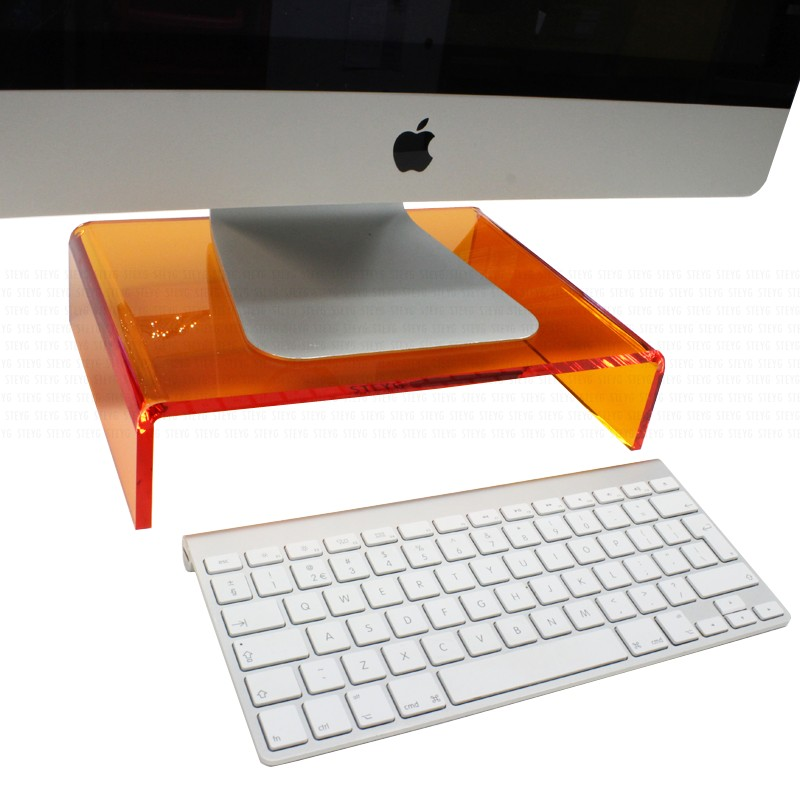 steyg-stand-orange-voor-imac-monitor